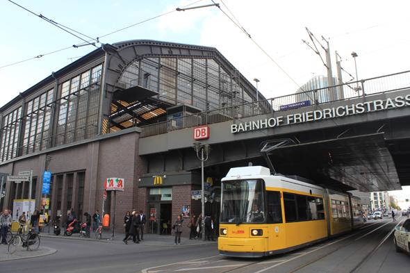 Friedrischstrasse station