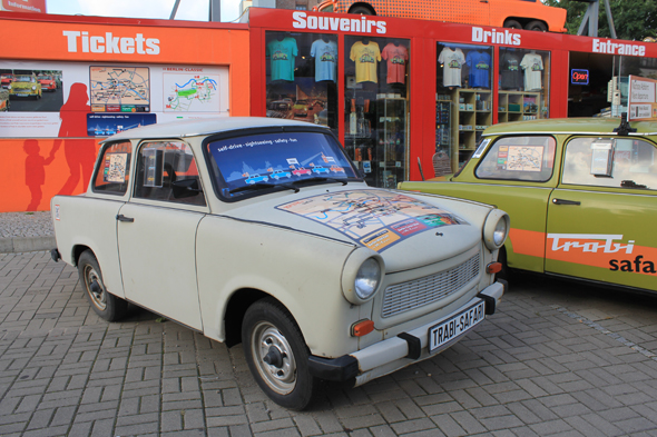 La mythique Trabant à Berlin