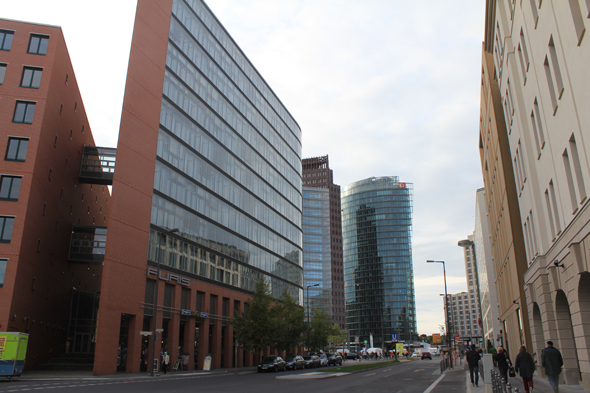 Potsdamer Platz and the Stresemannstrasse in Berlin
