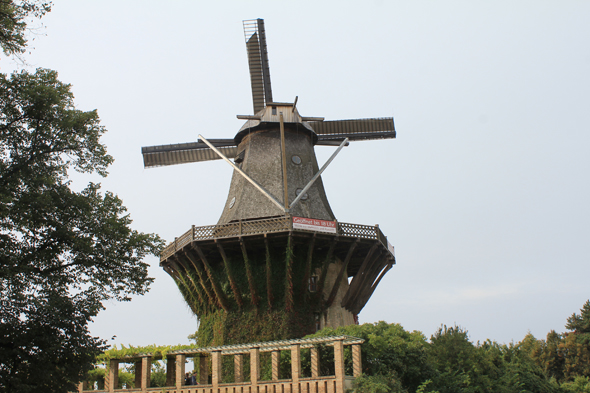 The mill of the Sanssouci Palace in Potsdam