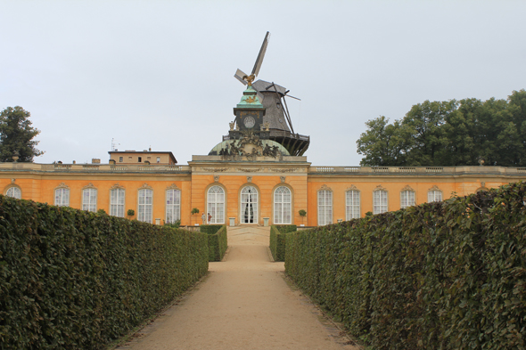 The Neue Kammern, the old rococo Orangery in Potsdam, Germany