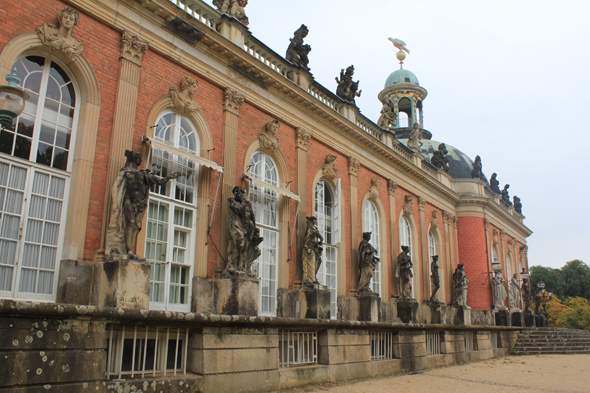 The Neues Palace of the Sanssouci, Potsdam