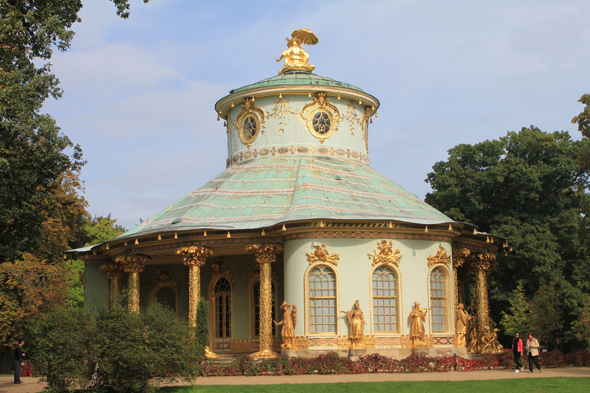 The Chinese House of the Sanssouci in Potsdam