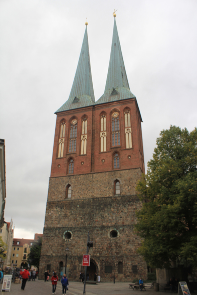 The St Nicolas church is the oldest sacred building of Berlin