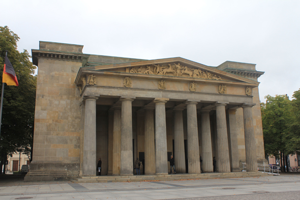 The Neue Wache memorial in Berlin, Germany