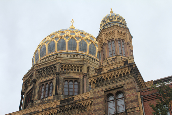 The New synagogue of Berlin