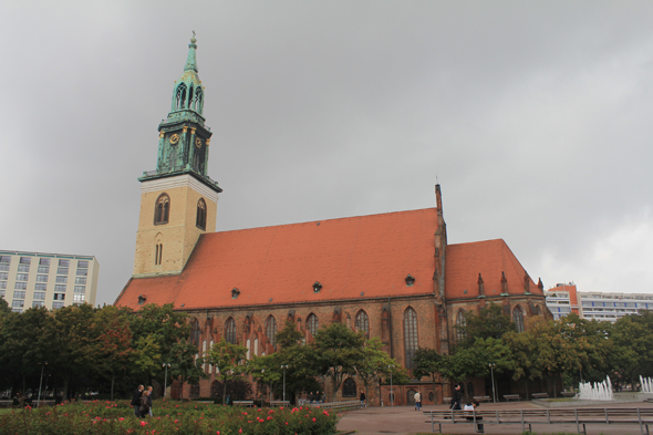 St Marienkirche, the St. Mary's church of Berlin