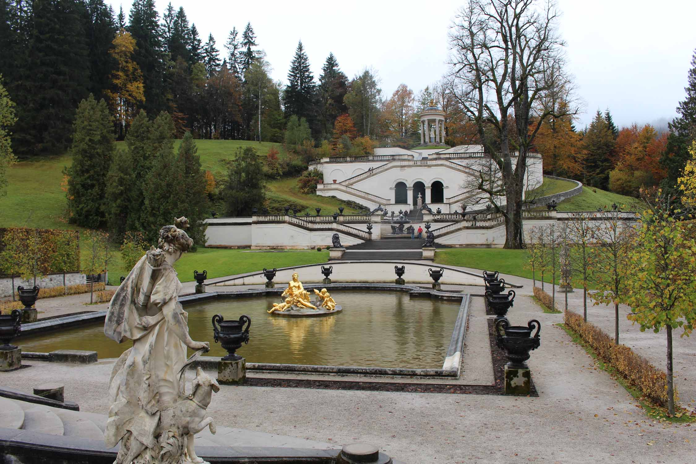 Linderhof Palace, water parterre