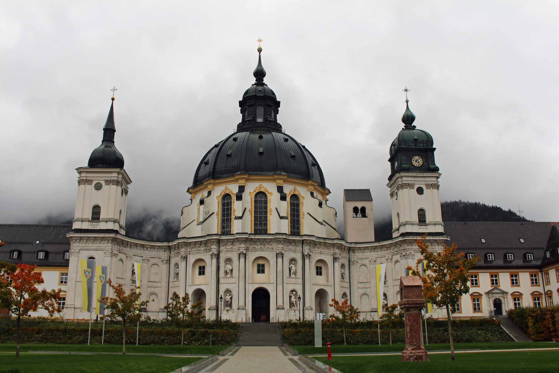 The Ettal abbey in Bavaria