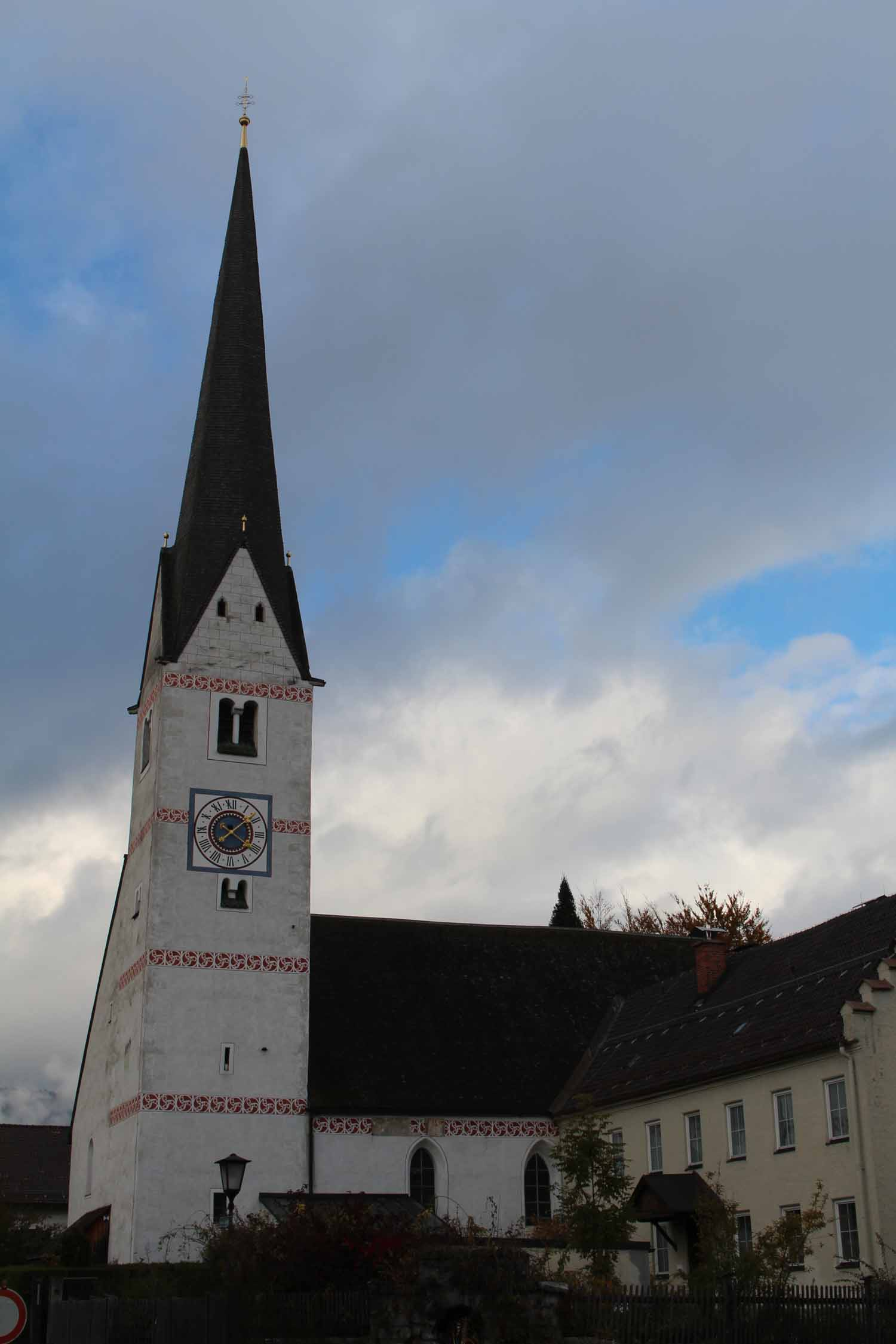 The old church St. Martin of Garmisch-Partenkirchen