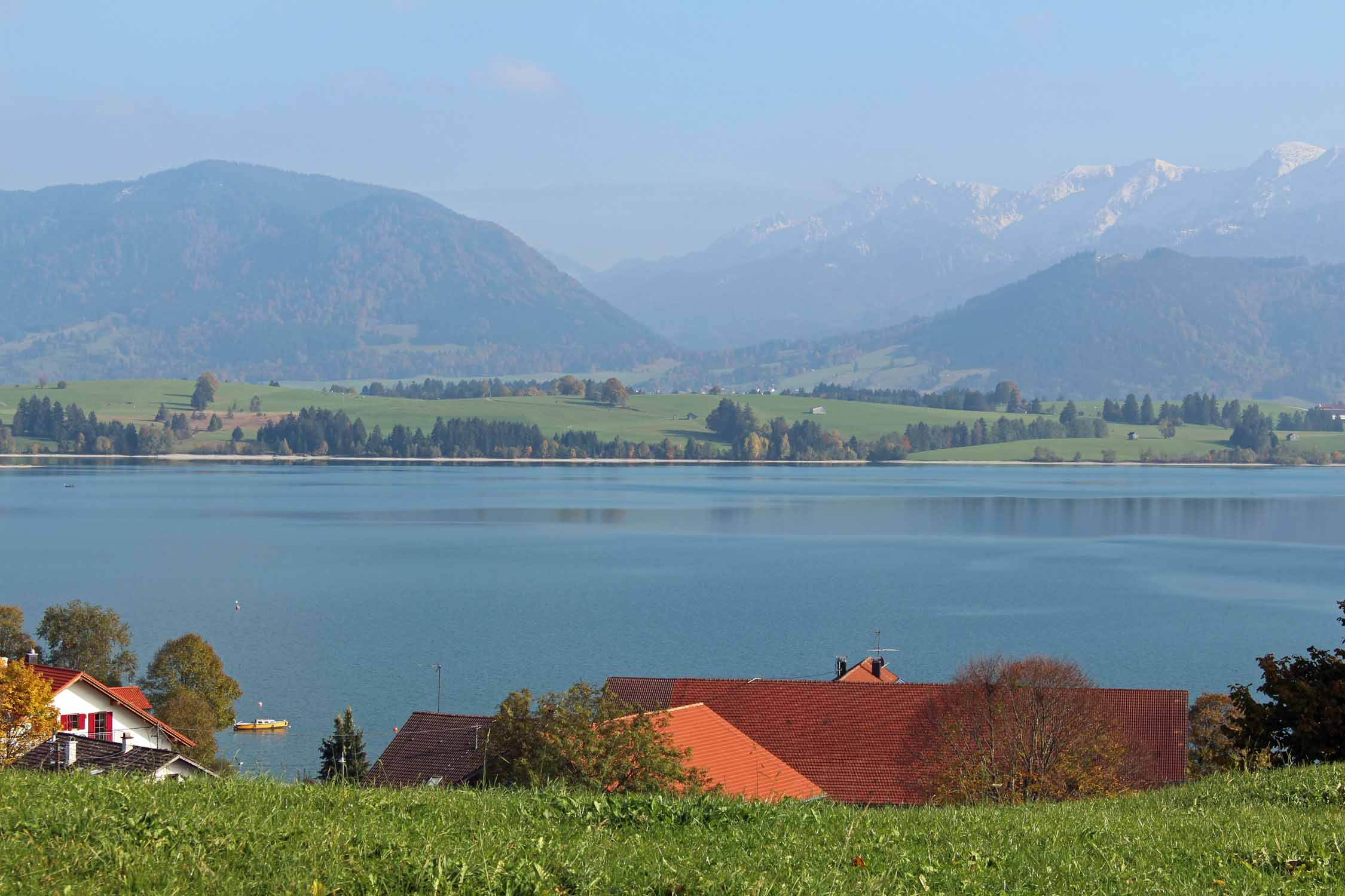 Forggensee lake