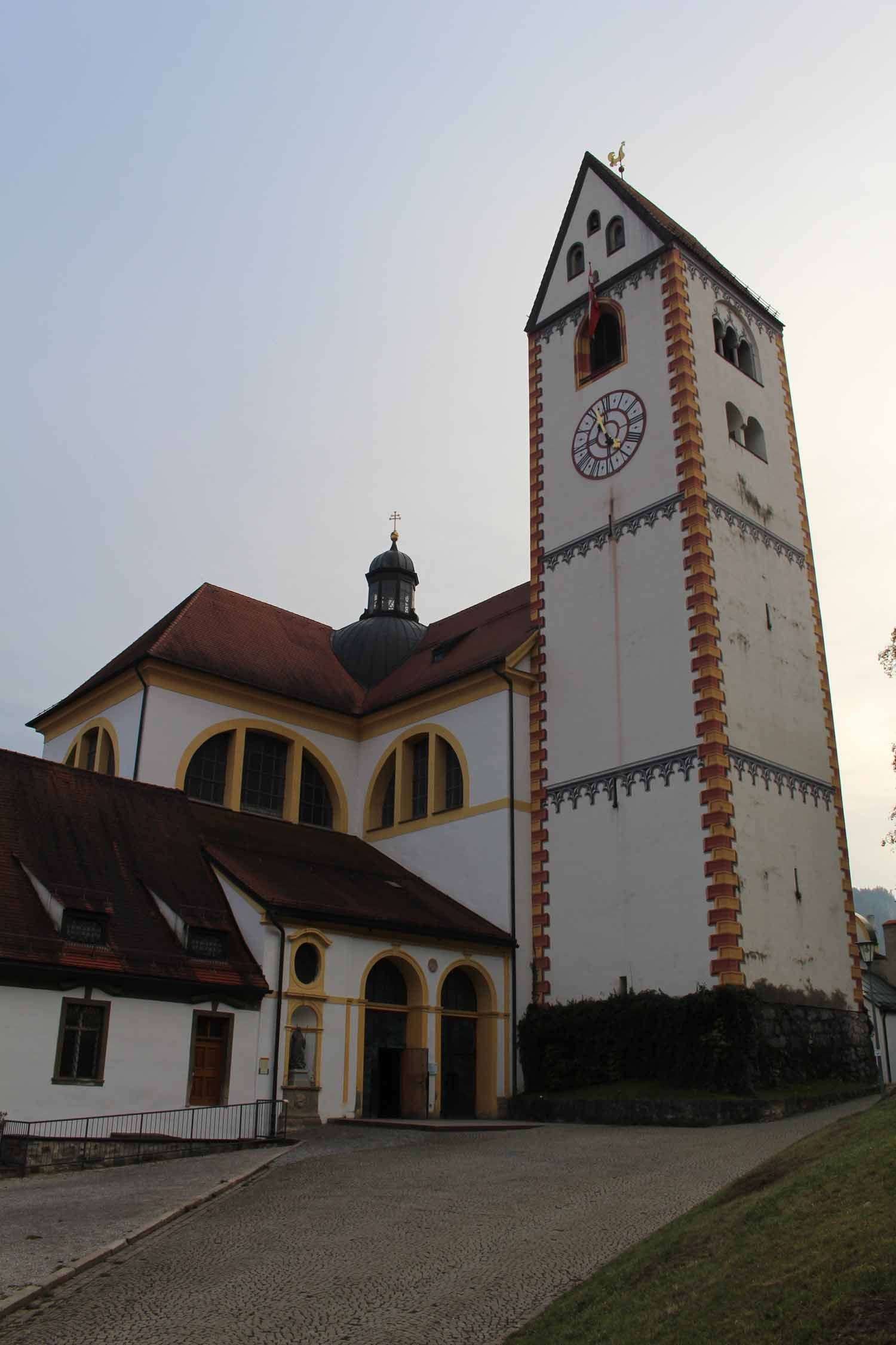 Füssen, St Mang, parish church