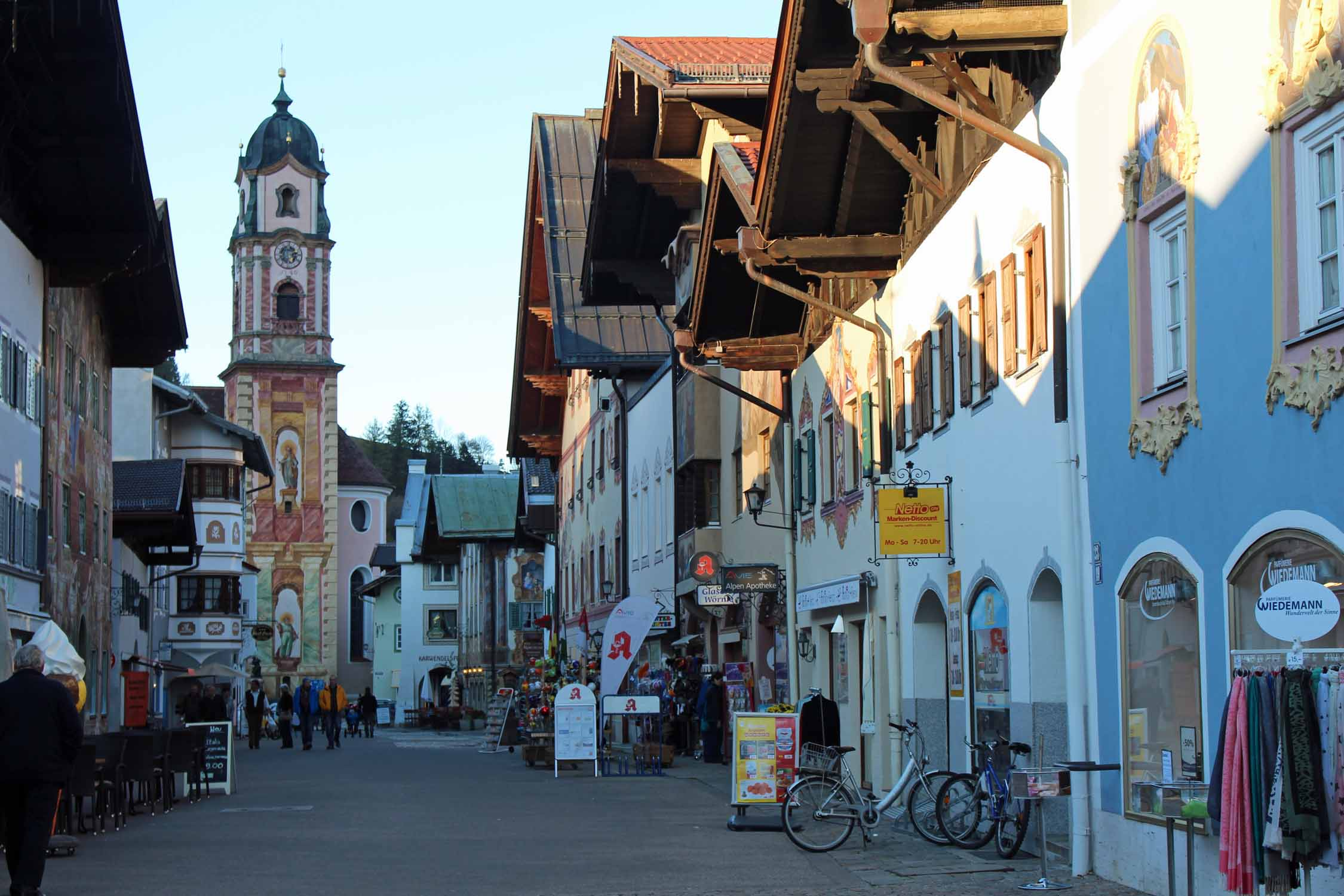 The main street of Mittenwald