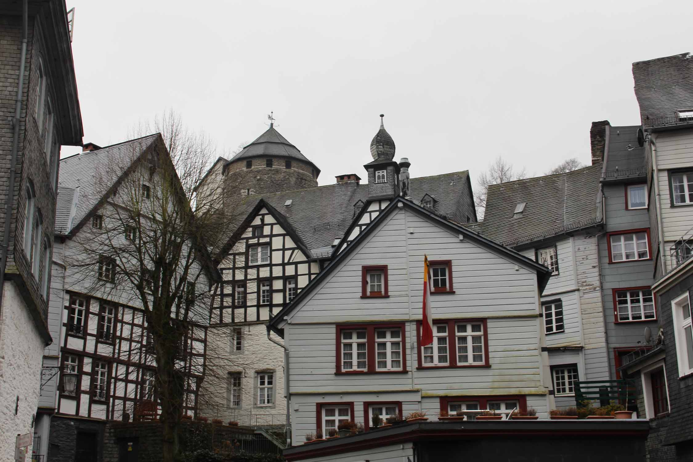 Monschau, typical houses