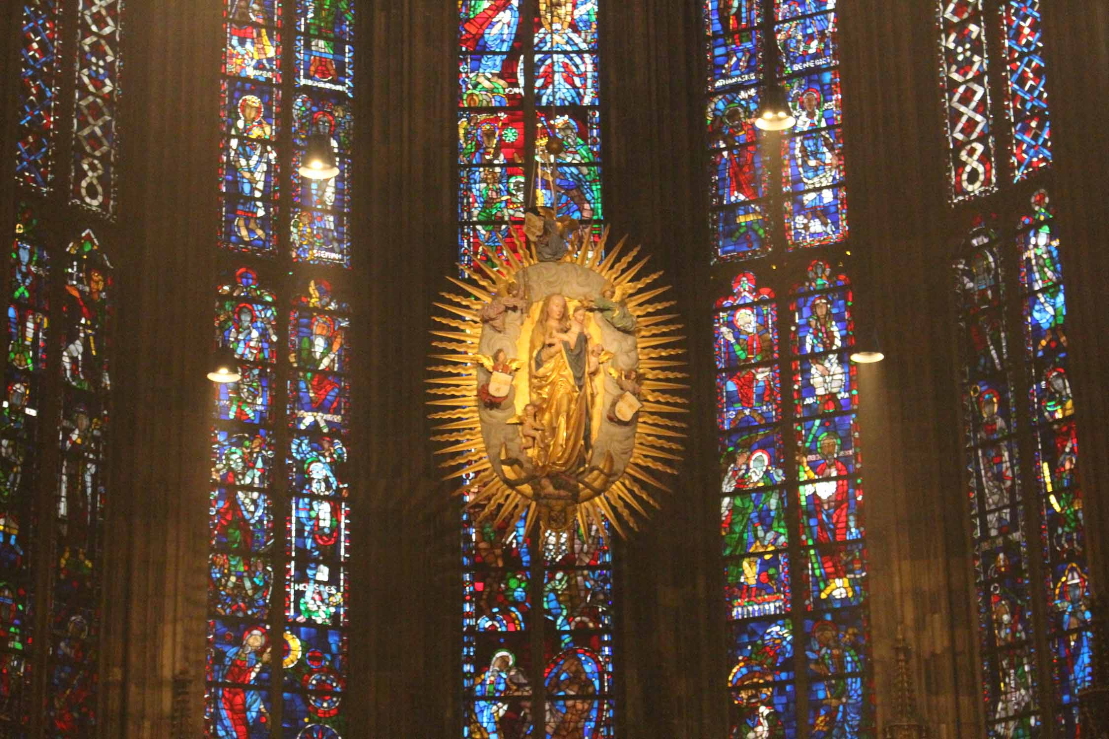 Aachen, cathedral, Blessed Virgin