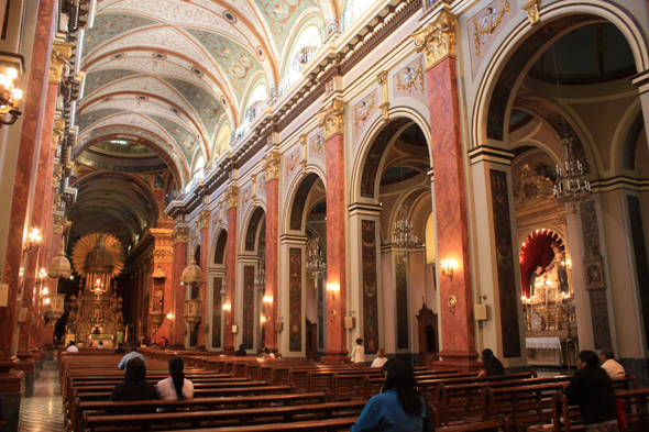 The cathedral of Salta, interior
