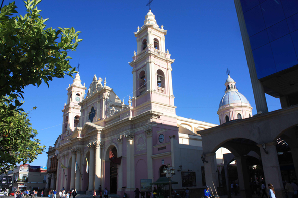 The city of Salta in Argentina