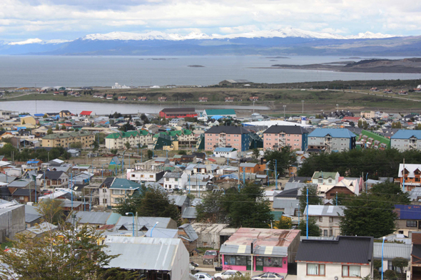 Ushuaia on the edges of the Beagle Channel