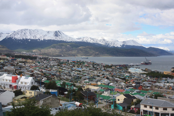 City of Ushuaia, Argentina