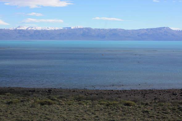 Lago Argentino, national park of the glaciers