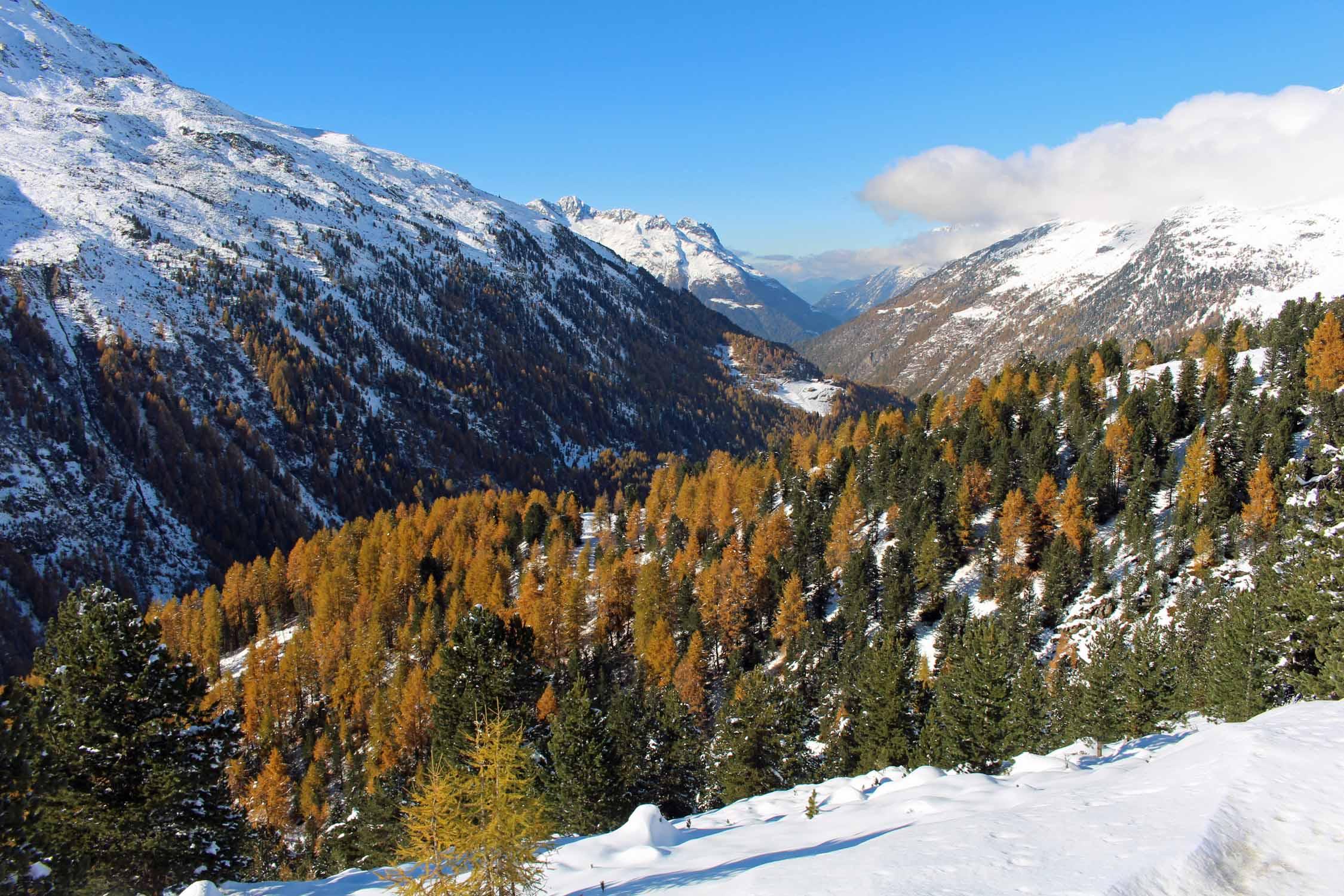 Otztal valley
