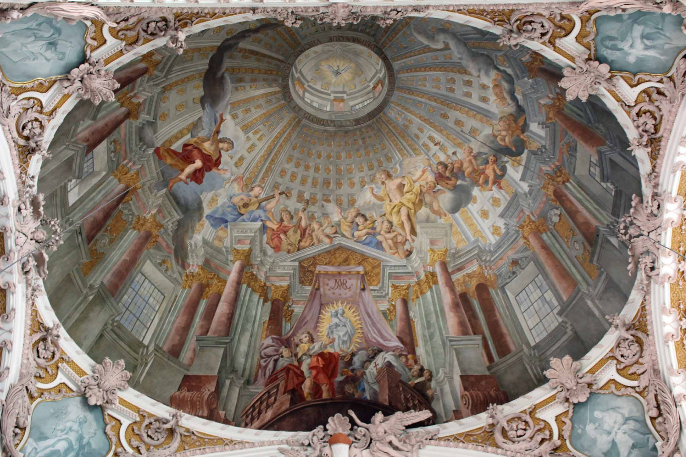 Innsbruck, cathedral St. James, dome
