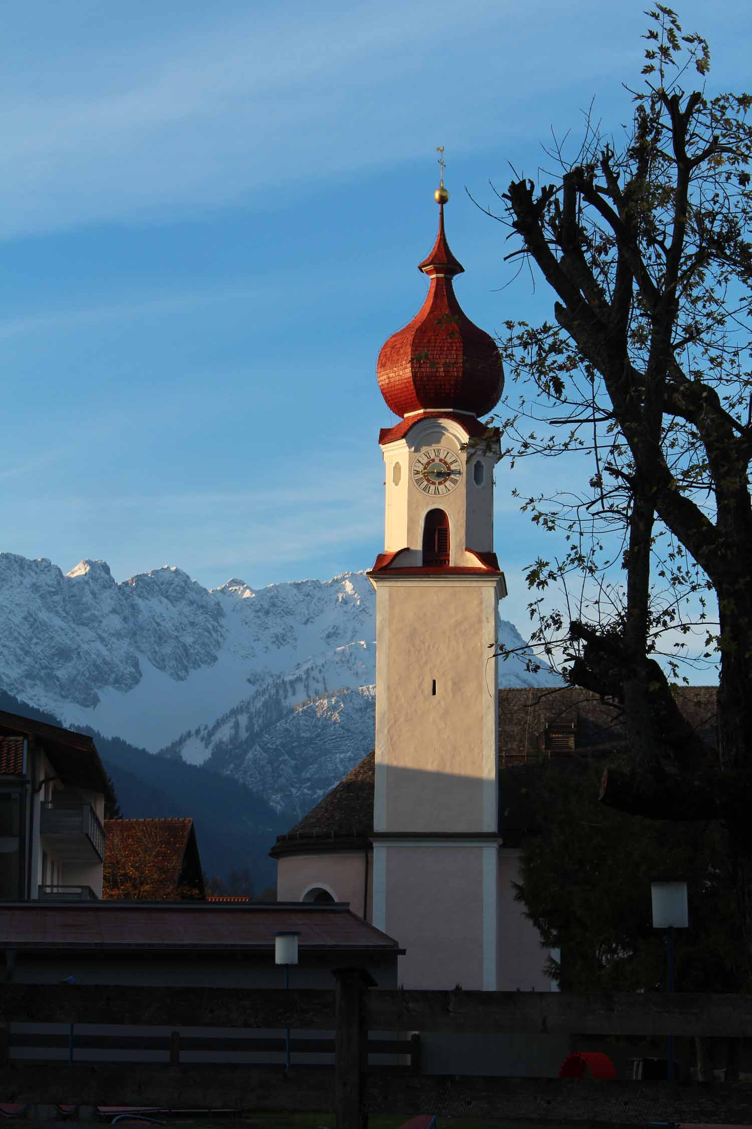 Ehrwald church, Tirol