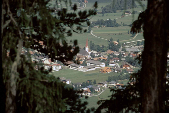 The village of Umhausen