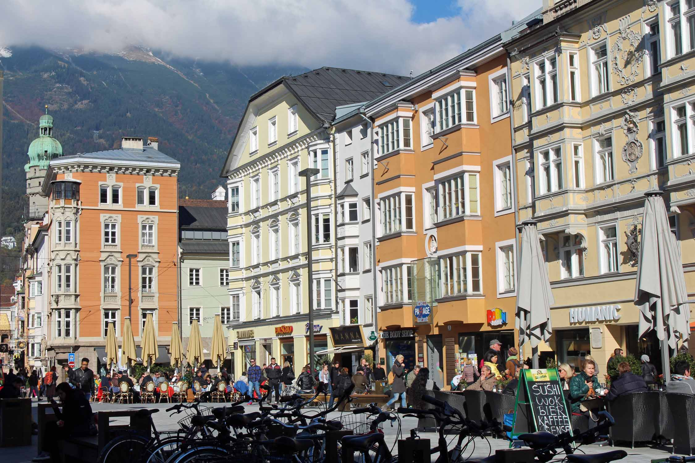 The beautiful old Innsbruck