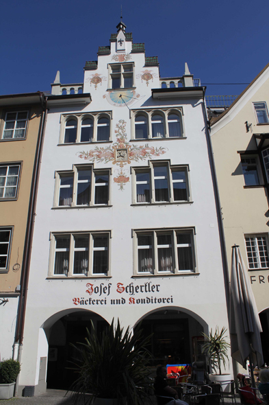 A facade of house in Feldkirch