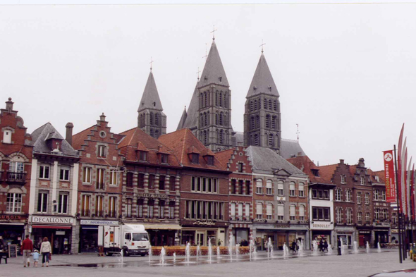 Tournai, Grand-Place, Belgium
