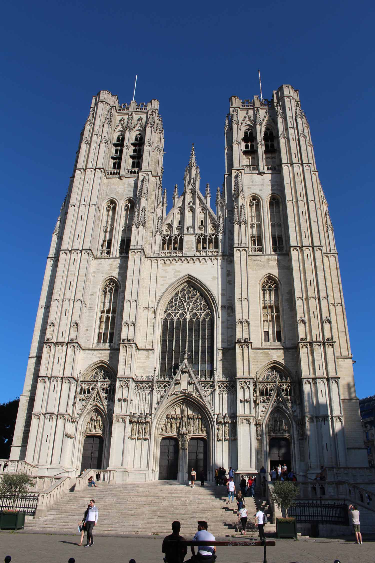 Brussels, the cathedral of Sts-Michel-and-Gudule
