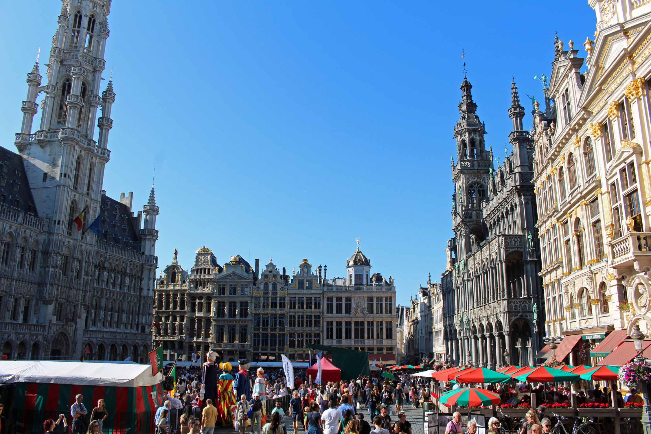 Brussels, Grand-Place, Belgium