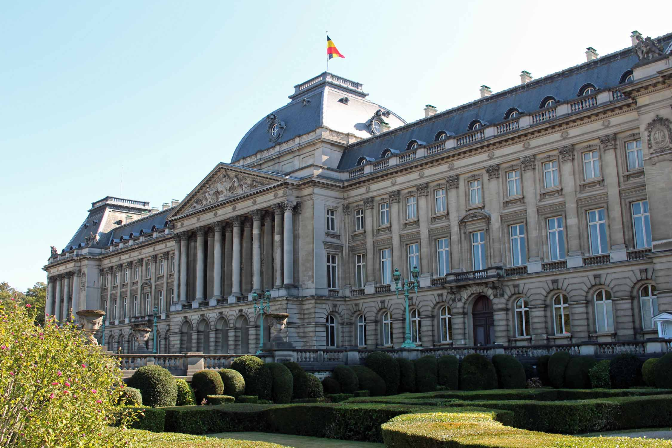 Brussels, the beautiful Royal Palace