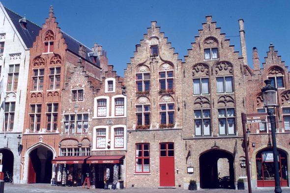 Typical houses of Brugge