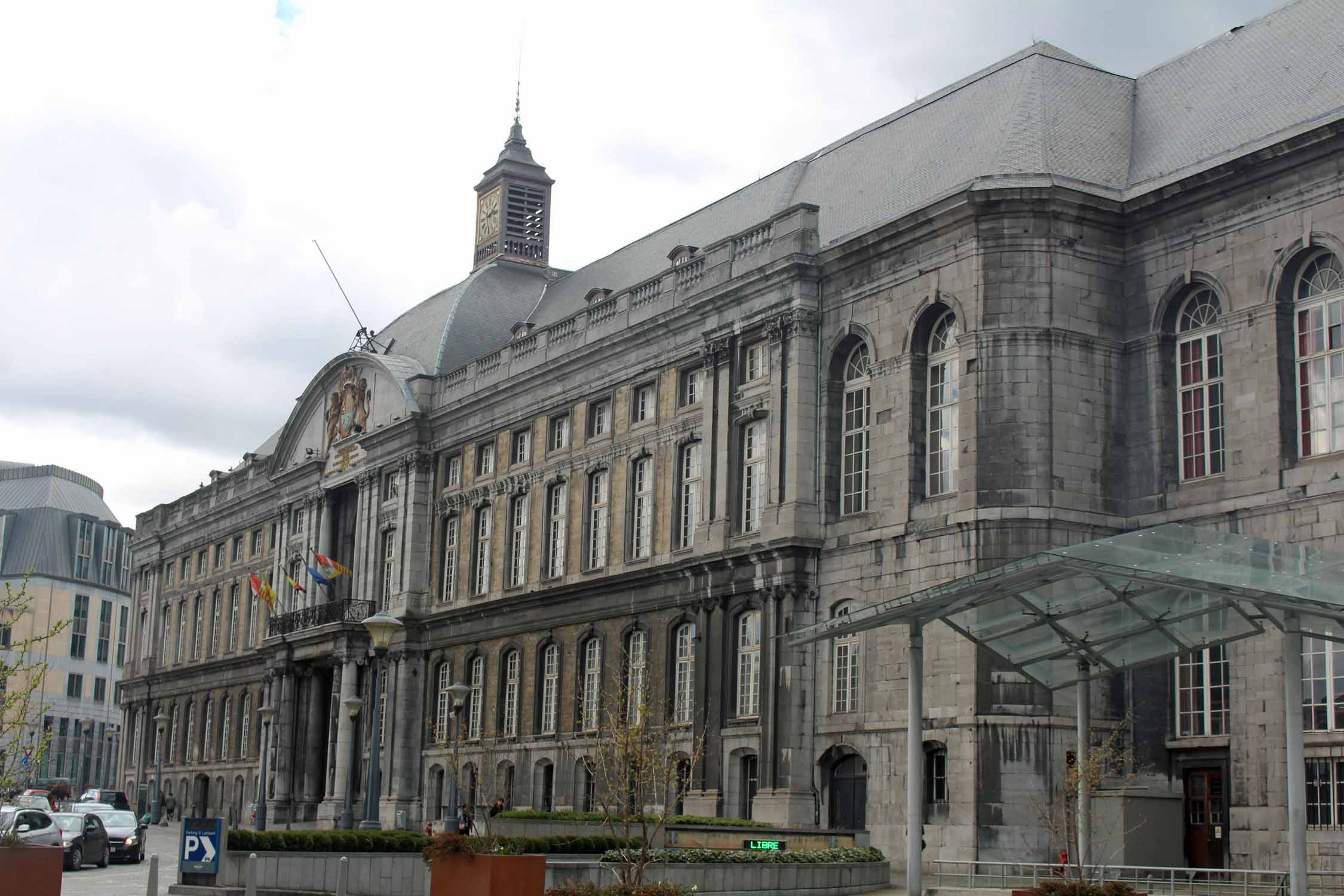 Liège, palace of the Prince Bishops