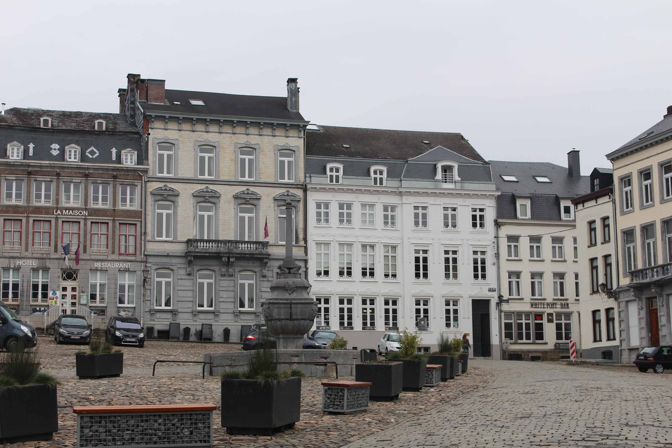 Stavelot, plaza Saint-Remacle
