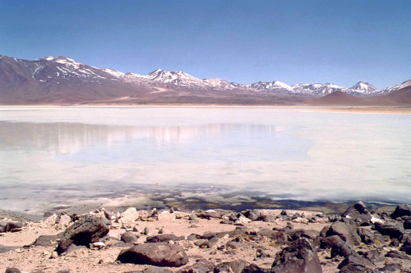 Beuatiful view of Laguna Blanca