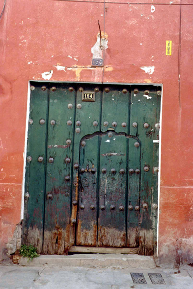 Potosi, a typical door