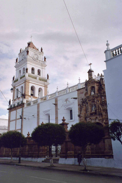 The cathedral of Sucre