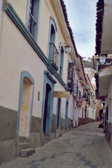 Jaen Indaburo, colonial district