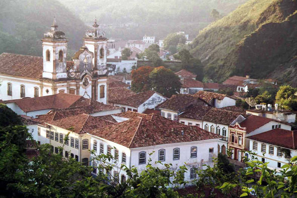 Ouro Preto, typical view