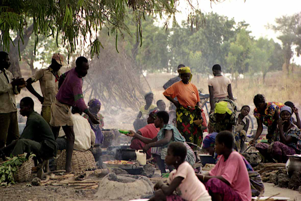 Gaoua, Repas traditionnel
