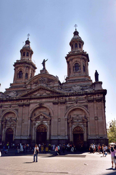 Santiago de Chile, cathedral