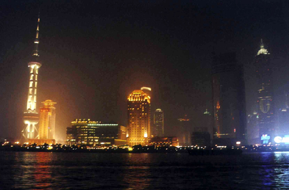 Shanghai, Pudong, nuit