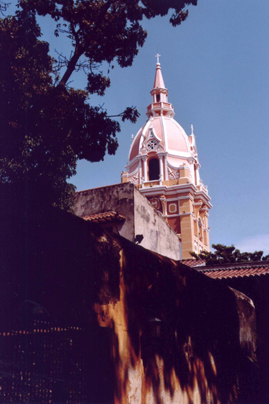 Cartagena, catedral, Colombia