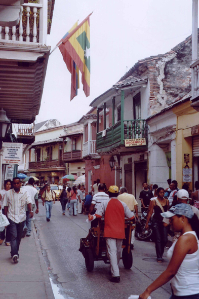 Street of Cartagena, Colombia