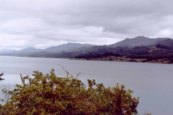Colombia, lake Tominé
