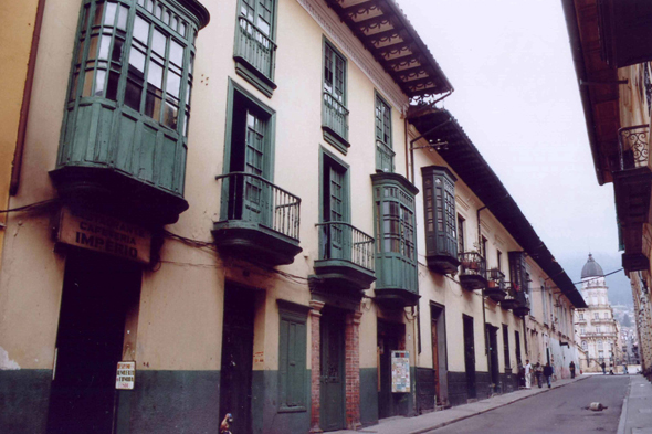 Bogota, Candelaria district