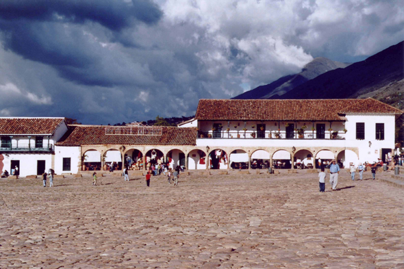 Colombie, Villa de Leyva, Plaza Major